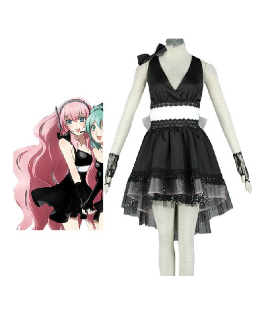 Vocaloid GIRLS!! images Vocaloid Megurine Luka cosplay costume wallpaper and background photos ...