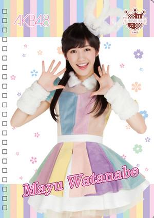 Watanabe Mayu 2014
