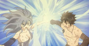 Water Nebula Ice geyser // Juvia and Gray ♥