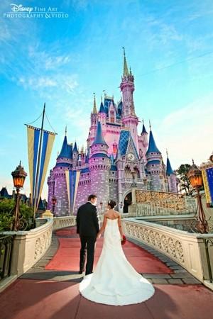 Wedding At Magic Kingdom