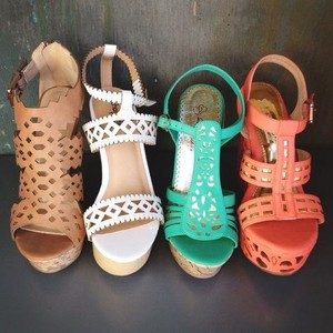 Wedges in Many Colors!!!