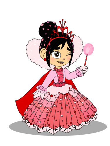 Tomy Thomas And Friends wallpaper titled Princess Vanellope