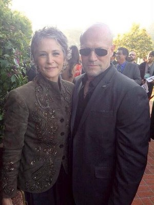 With Michael Rooker