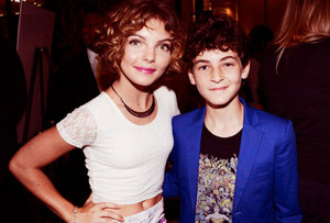 Young Bruce and Selina