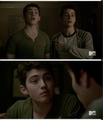 Young Derek with stiles