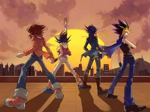 Yu-Gi-Oh Protagonists