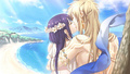 Yui and Apollon kiss