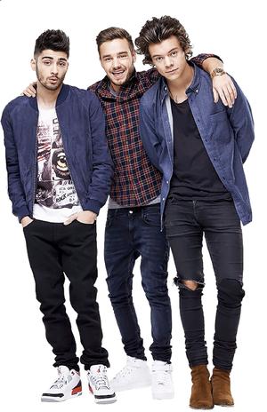 Zayn,Liam,Harry