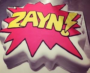 Zayn's Birthday Cake <3