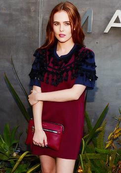Zoey Deutch - Marc door Marc Jacobs Fall/Winter 2014 voorbeeld in LA