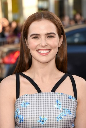 Zoey Deutch at the season premiere of True Blood