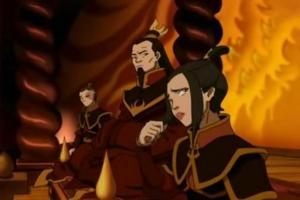 Zuko, Ozai, and Azula