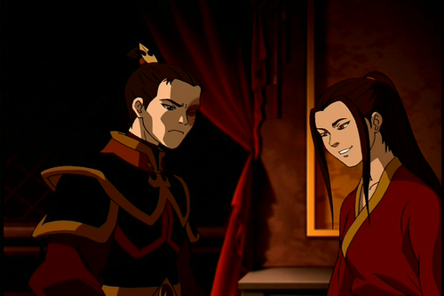 Avatar: The Last Airbender achtergrond titled Zuko and Azula