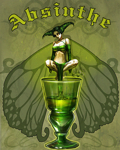 Fairies achtergrond possibly containing anime entitled absinthe20