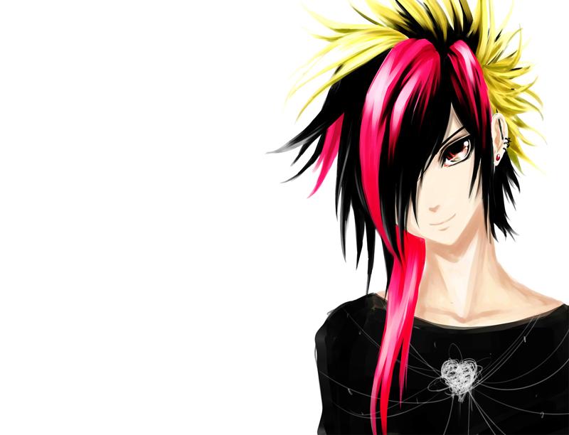 Cool 25 Perfect Emo Boy Anime Wodip Com Hairstyles For Men Maxibearus