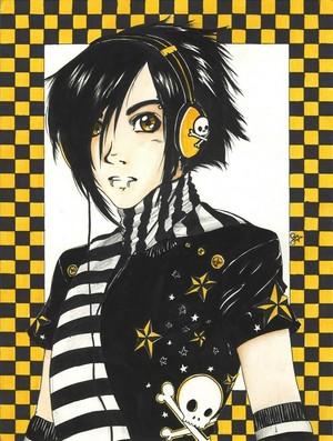 anime boy photo