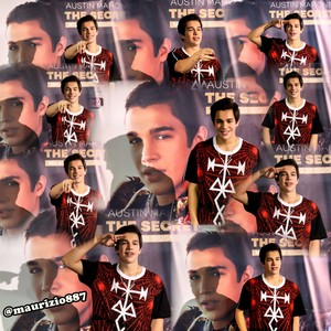 austin mahone,  meet & greet ,Milan 2014
