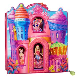 Barbie and the secret door istana, castle