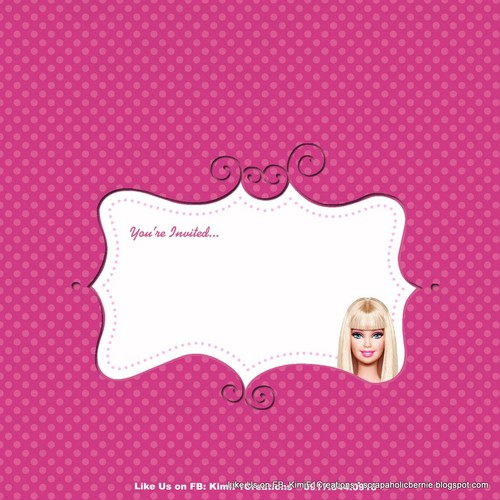 Barbie wallpaper titled barbie your invited