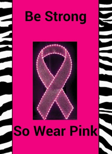 Breast Cancer Awareness wallpaper entitled be - strong