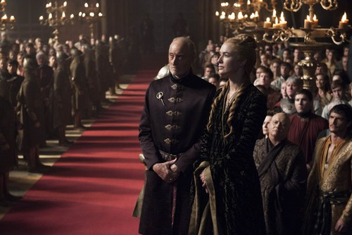 House Lannister wolpeyper titled cersei and tywin