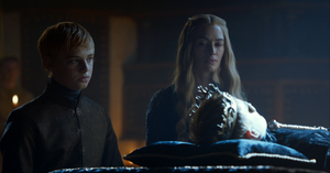 cersei with tommen and joffrey