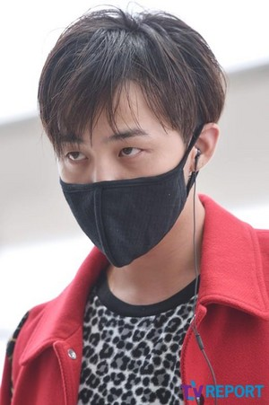 damn hot Gdragon @ Incheon airport❤ ❥