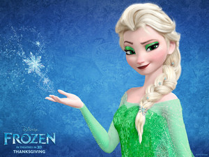 elsa turns green