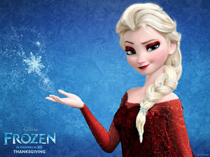 elsa turns red
