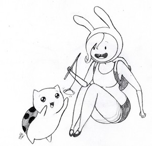 fionna and catbug