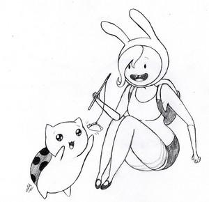 fionna and catbug