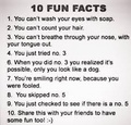 funny facts - personality-test photo