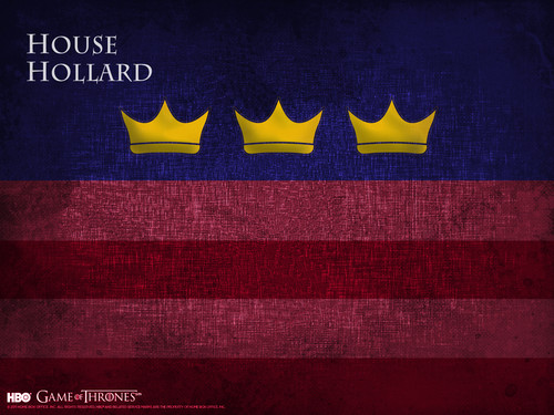 Game of Thrones wallpaper possibly containing a sign entitled House Hollard
