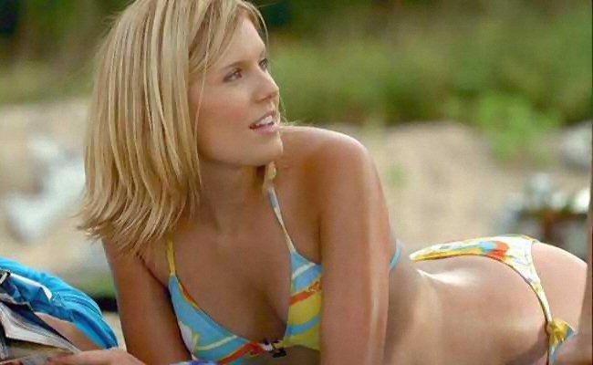 Maggie grace in a bikini