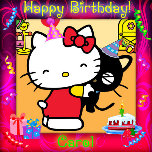 Hello Kitty Images Happy Birthday Wallpaper And Background
