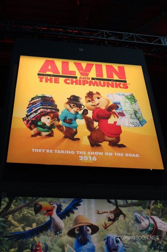 Alvin and the Chipmunks wallpaper probably containing anime titled hr_Licensing_Expo_2014_17