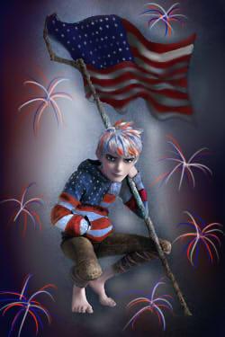 jack frost is patriotic