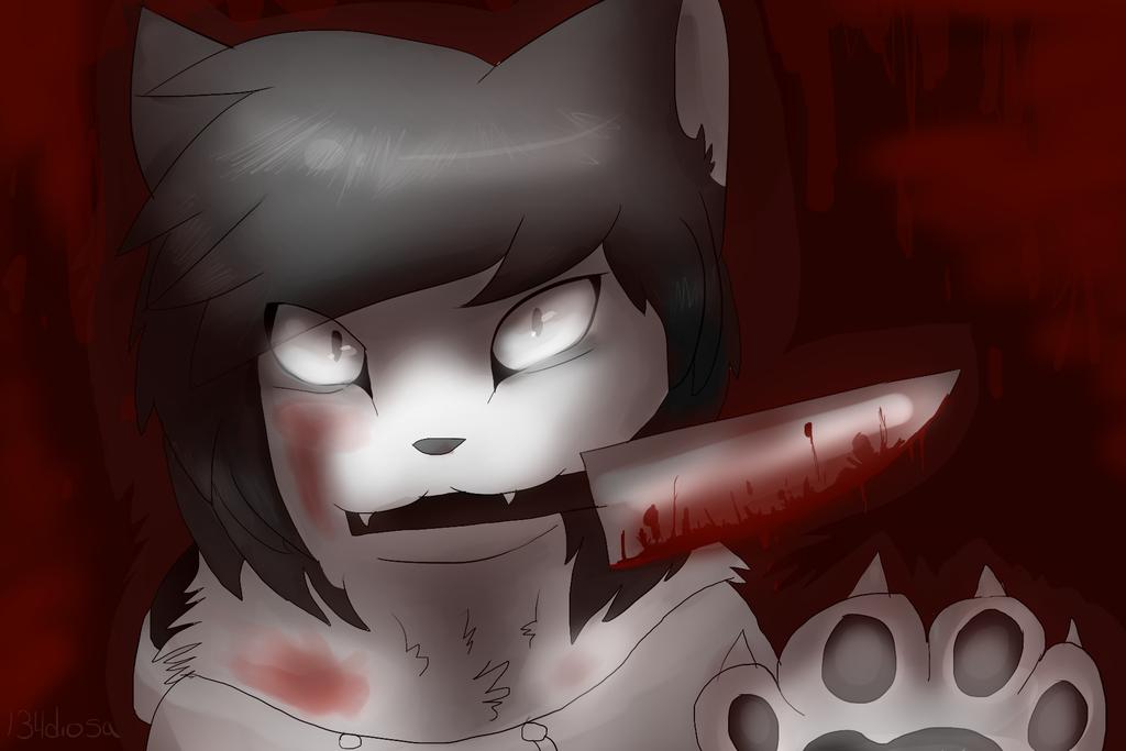 jeff the killer cat