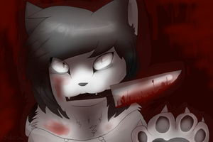 jeff the killer cat