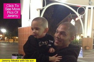 jeremy meeks and his son