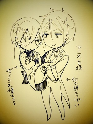 কুরোসিৎসুজি scribbles দ্বারা toboso yana