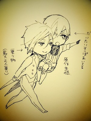 kuroshitsuji scribbles by toboso yana