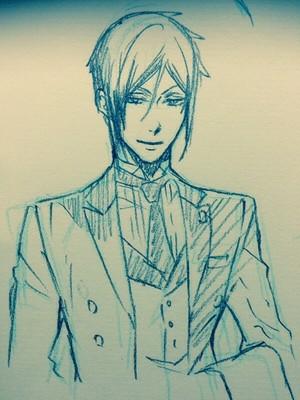 《黑执事》 scribbles 由 toboso yana