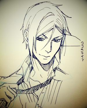 Kuroshitsuji scribbles sejak toboso yana