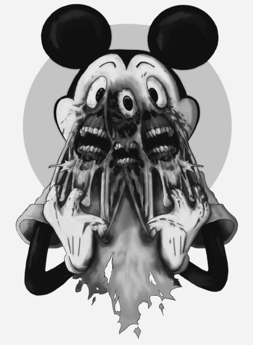 mickey mouse creepypasta