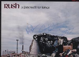 my Rush autographs