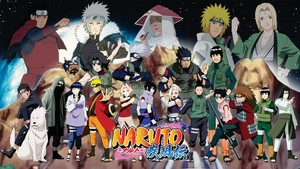 NARUTO -ナルト- group shot