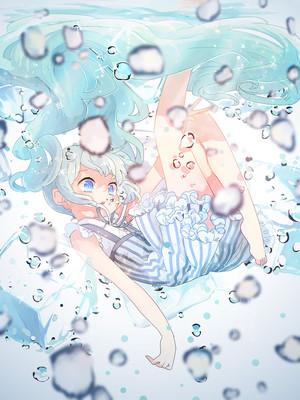 Girl in the ice---------