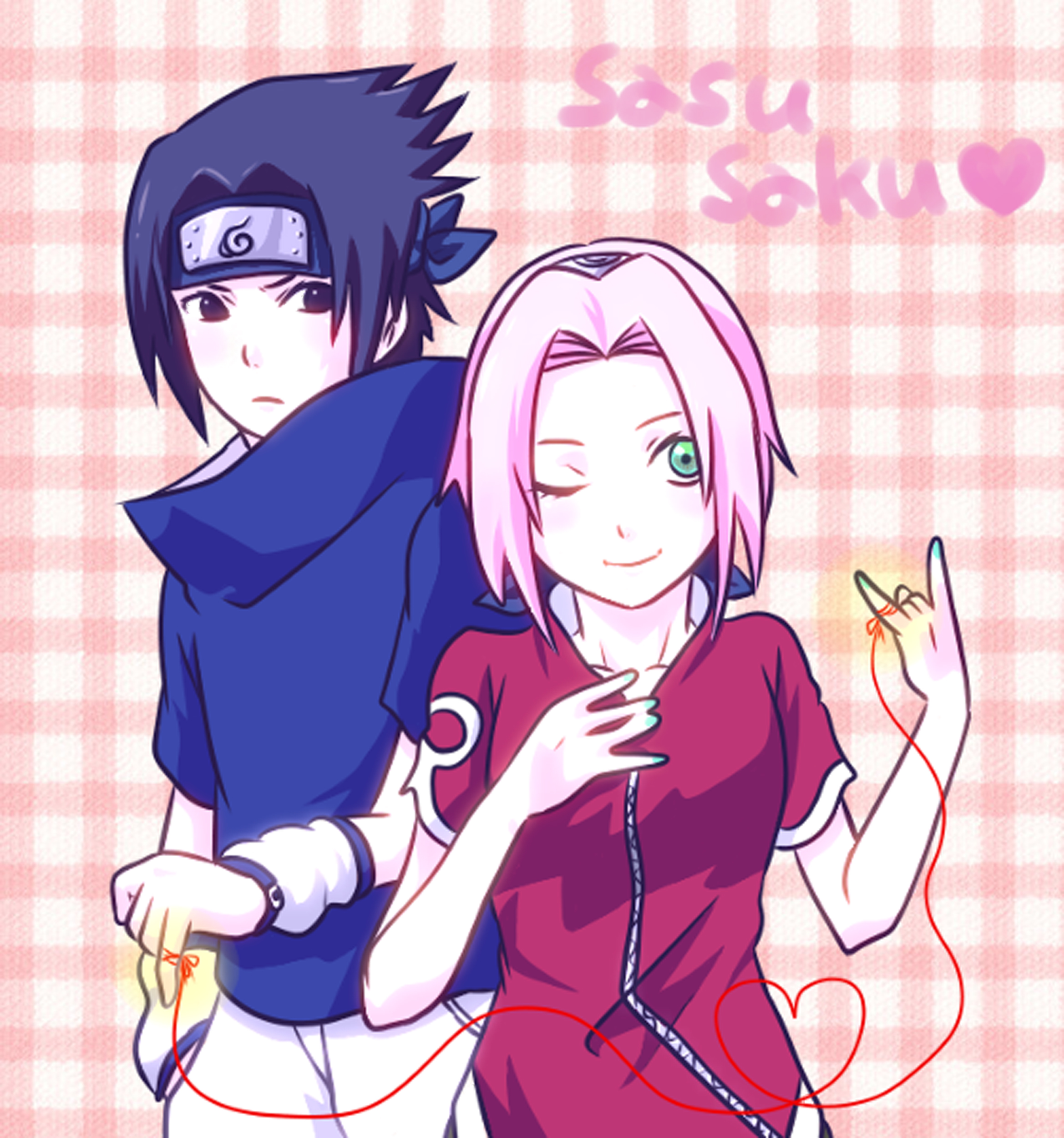 SasuSaku Naruto Couples ♥ Fan Art Fanpop