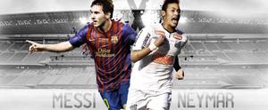 Neymar nd messi